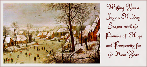 Bruegel: Winter Landscape with Bird Trap