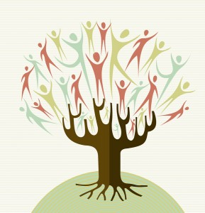 Embrace Diversity Tree Set