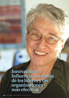 Kim Barnes, interviewed for Capital Humano in Chile