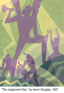 Image: Judgement Day, painting  by Aaron Douglas