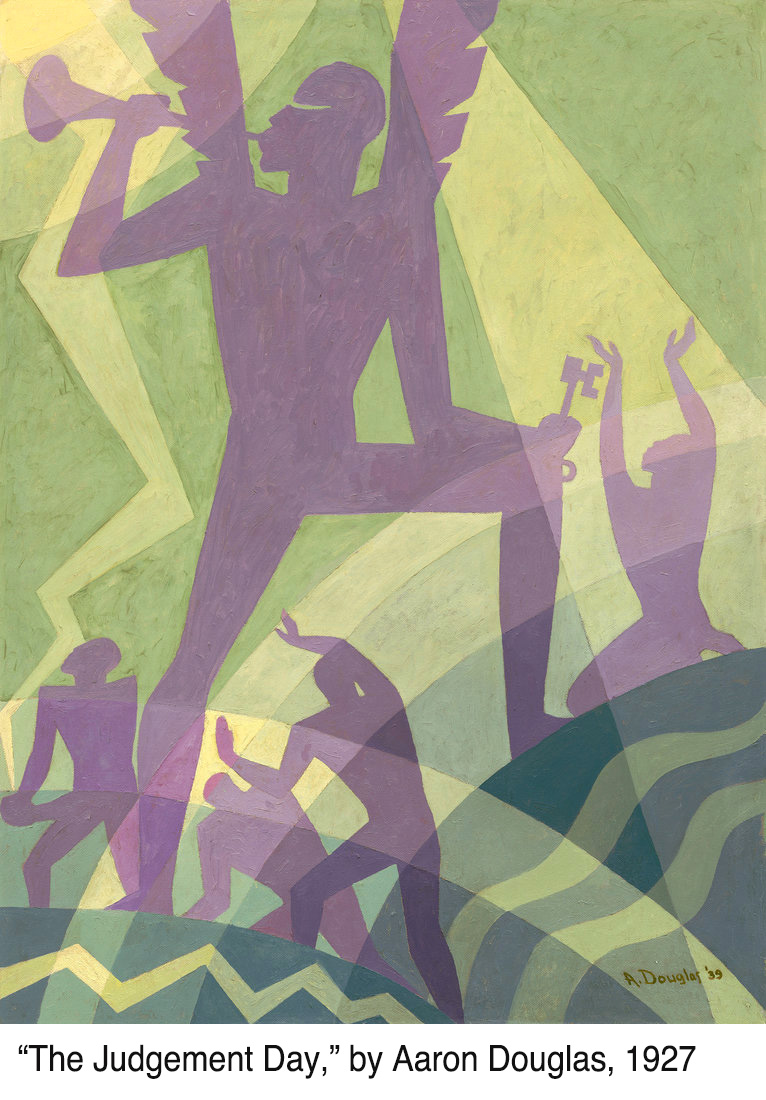 Judgement Day, painting by Aaron Douglas, 1927