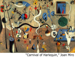 Artwork: Carnival of Harelquin by Joan Miro