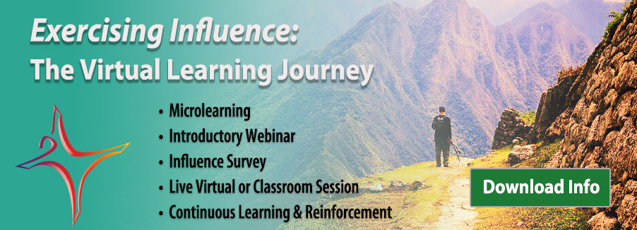 Exercising Influence: The Learning Journey