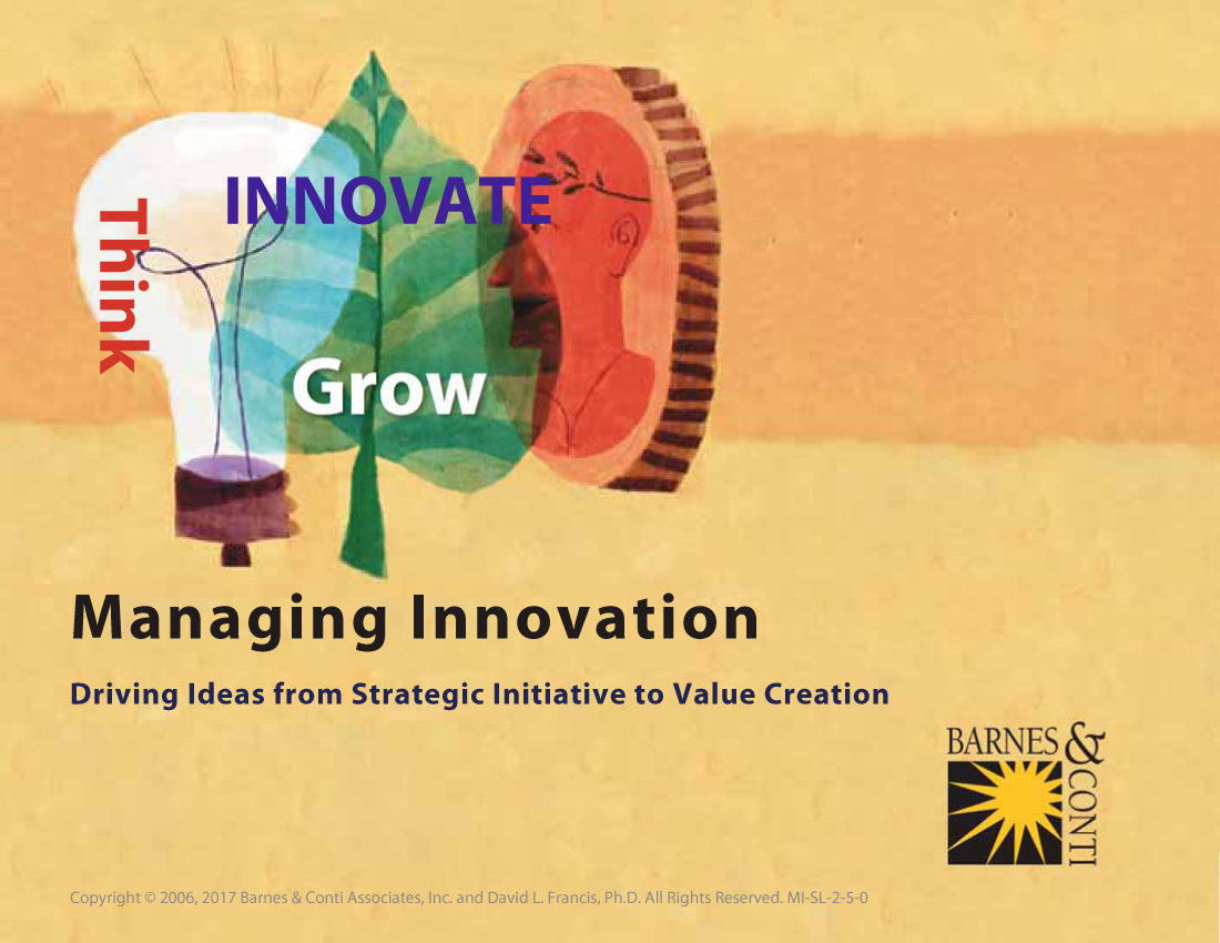 innovation a driver for value creation